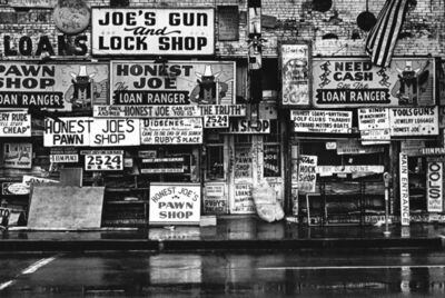 Paul Greenberg, 'Honest Joe's, Dallas, TX', ca. 1970