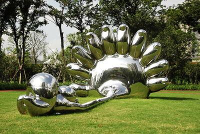 Gao Xiaowu 高孝午, '《我们这一代-NO!》不锈钢', 2007