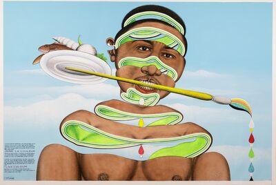 Chéri Samba, 'J'aime la couleur', 2018