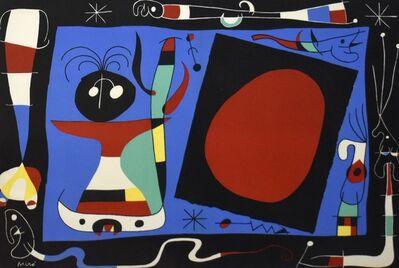 Joan Miró, 'La Femme Au Miroir', 1957