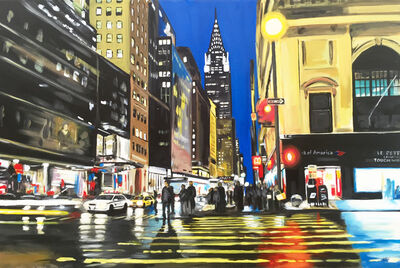 Angela Wakefield, 'Painting of the Chrysler Building, New York City', 2012