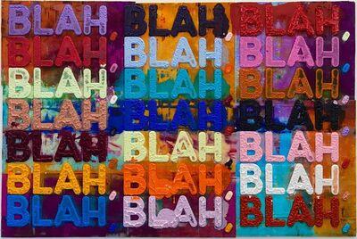 Mel Bochner, 'Blah Blah Blah ', 2018