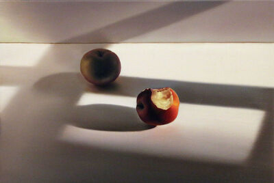 Edite Grinberga, 'Zwei Äpfel II', 2016