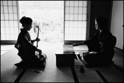 Hiroji Kubota, 'A private bridal school, where ladies go through basic training to seek well-to-do future husbands, Kanagawa, JAPAN', 1966