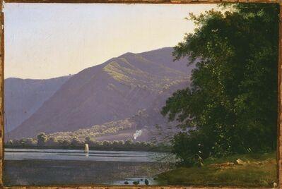 Antoine-Fèlix Boisselier, 'View of Lake Nemi', 1811