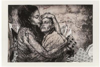 Swoon, 'Alixa and Naima', 2009