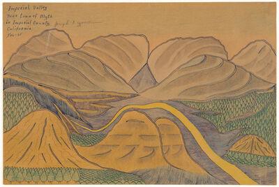 Joseph Yoakum, 'Imperial Valley', 1965