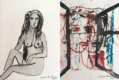 Anjolie Ela Menon, 'Untitled Drawing I and II ', 2006