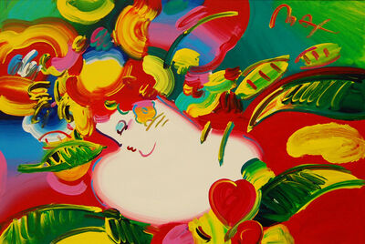 Peter Max, 'Flower Blossom Lady', 2001