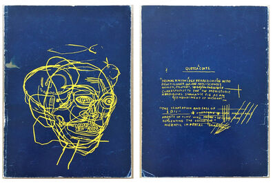 "Jean-Michel Basquiat, '""Paintings 1981-1984"", Exhibition Catalogue, Fruitmarket Gallery Scotland, RARE', 1984"