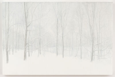 Ron Milewicz, 'Woods in Winter', 2017