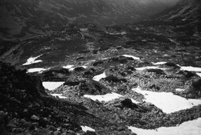 Constantin Flondor, 'Solarogram in the Retezat Mountains', ca. 1976