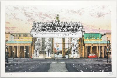 JR, 'Giants, Brandenburg Gate', 2018