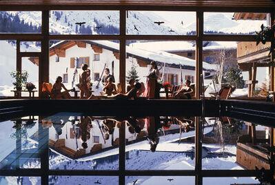 Slim Aarons, 'Gasthof Post Pool', 1979
