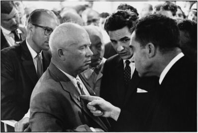 Elliott Erwitt, 'Moscow (Nikita Khrushchev and Richard Nixon)', 1959