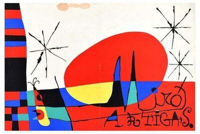 Joan Miró, 'Terre de grand feu, Mirò', 1956
