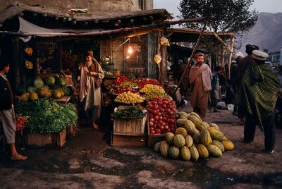 Steve McCurry, 'Harvest Market, Afghanistan', 1992