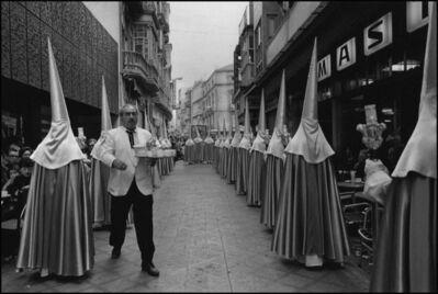 Cristina Garcia Rodero, 'SPAIN. Cartagena. 1981. Waiter! Chocolate with churros!', 1981