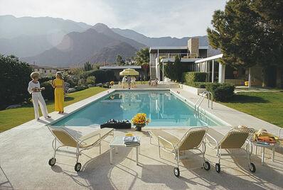 Slim Aarons, 'Palm Springs Pool', January 1970