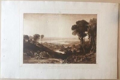 J. M. W. Turner, 'Junction of the Severn and the Wye', 1811