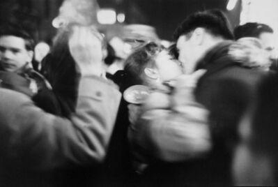 Saul Leiter, 'Kiss', 1952