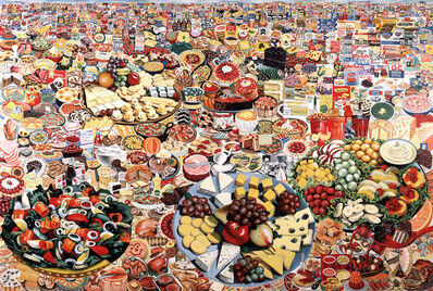 Erró, 'Foodscape', 1964