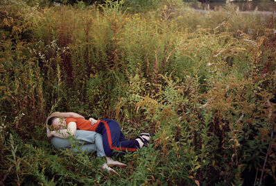 Justine Kurland, 'Girls Curled Up', 1997
