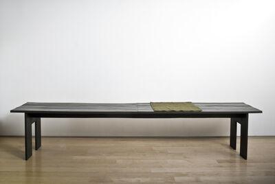 Helen Mirra, 'Shipped Bench', 2008