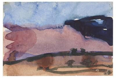 Klaus Fussmann, 'Die großen Sanddünen von Colorado', 1984