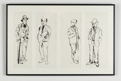 Eleanor Antin, 'My Four Uncles', 1981