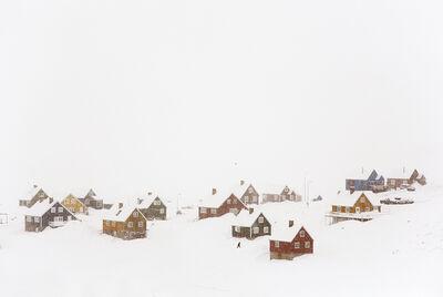 Christophe Jacrot, 'The village, Blizzard 2 series', 2018