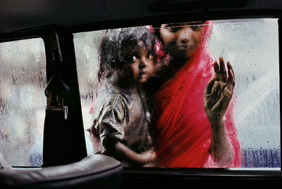 Steve McCurry, 'Mother and Child at Car Window', 1993