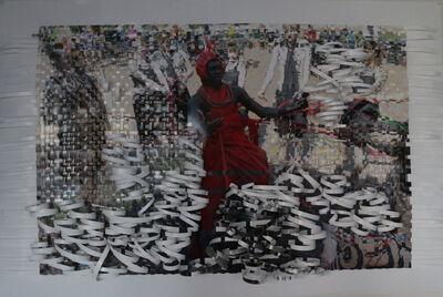 Olaniyi R. Akindiya (AKIRASH), 'Jakan- Weaved #17', 2019