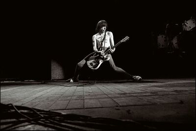 David Corio, 'Johnny Ramone performing at Hammersmith Odeon, London, UK ', 1979