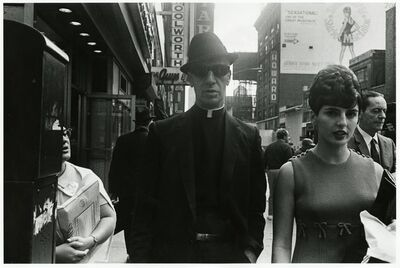 Paul McDonough, 'Priest with Dark Glasses, NYC', 1970