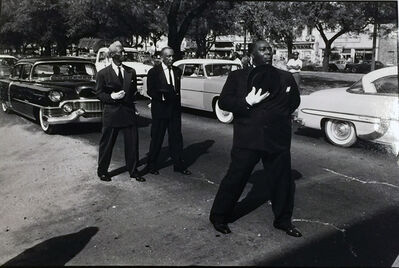 William Claxton, 'Funeral March New Orleans', 1960