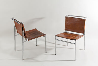 Eileen Gray, 'Pair of chairs', ca. 1930