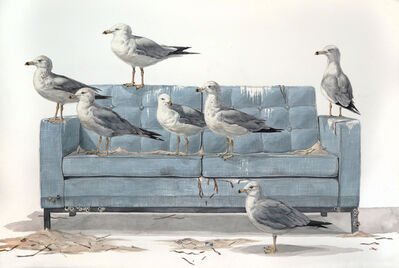 Thomas Broadbent, 'The Flock', 2018