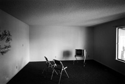 Bill Owens, 'Untitled (Empty Room with Two Chairs and TV)', 1973