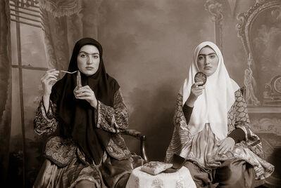 Shadi Ghadirian, 'Qajar #7', 1998