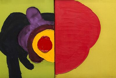 Luis Feito López, 'Senza titolo', 1968