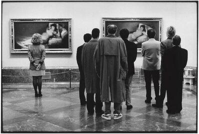 Elliott Erwitt, 'Le Prado, Spain, Madrid', 1995
