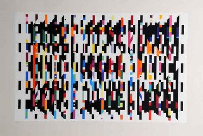 "Yaacov Agam, 'Untitled plate - ""Homage a' G.B.""', 1973-1976"