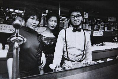 Ed van der Elsken, 'Osaka, Japan. A Western-style, slightly 'beat' bar', 1960-vintage print