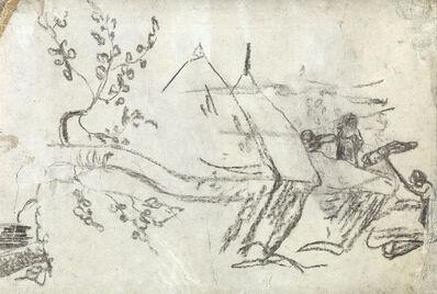 Paul Gauguin, 'Paysage aux Meules.', circa 1880-85