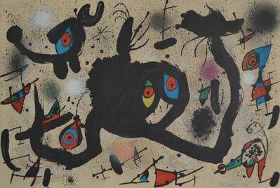 Joan Miró, 'El Vol de l'Alosa', 1973