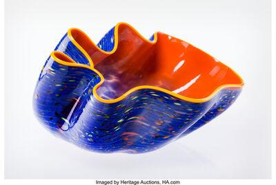 Dale Chihuly, 'Starlight Macchia Seaform Bowl', 2004