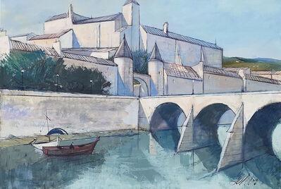 Charles Levier, 'Provence (Provençal village)', 1972
