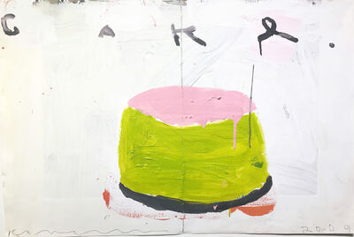 Gary Komarin, 'Cake (Pink & Lime)', 2009