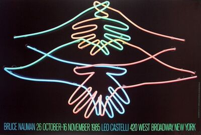 Bruce Nauman, 'Big Welcome', 1985